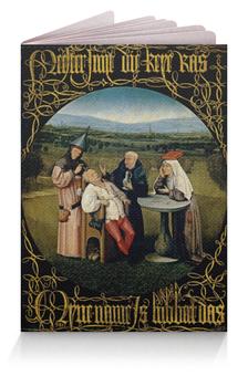 """Обложка для паспорта """"Извлечение камня глупости (Иероним Босх)"""" - картина, босх"""