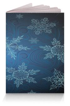 """Обложка для паспорта """"Снежинка"""" - красивая, яркая, привлекательная"""