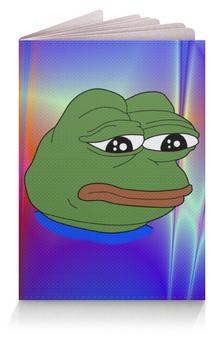 """Обложка для паспорта """"Pepe Frog"""" - мем, грустная лягушка, sad frog, pepe frog, pepe the frog"""