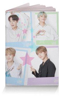 """Обложка для паспорта """"BTS все участники"""" - музыка, k-pop, bts, к-поп, бтс"""