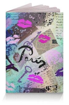 """Обложка для паспорта """"Париж (1)"""" - стиль, мода"""