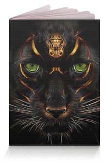 """Обложка для паспорта """"ПАНТЕРА. ФЭНТЕЗИ"""" - хищник, животные, красота, магия, арт фэнтези"""