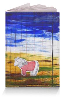 """Обложка для паспорта """"Северный пони"""" - коллаж, пони, север, скандинавия"""