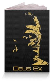 """Обложка для паспорта """"Deus Ex"""" - хакер, адам дженсен, deus ex, human revolution, дженсен"""