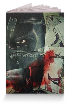 "Обложка для паспорта ""Бэтмен (Batman)"" - joker, batman, джокер, бэтмен, бэтс"