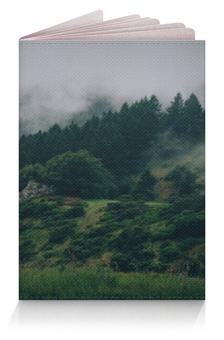 """Обложка для паспорта """"Дух Севера"""" - лес, природа, север, дух севера"""