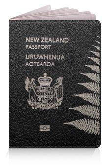 """Обложка для паспорта """"New Zealand Passport"""" - природа, горы, хоббит, новая зеландия, острова"""