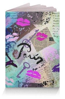 """Обложка для паспорта """"Париж """" - стиль, мода, франция, туристам"""
