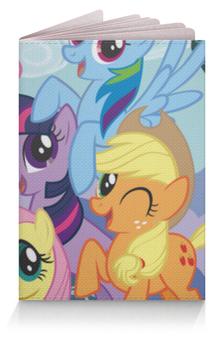 "Обложка для паспорта ""My Little Pony"" - rainbow dash, my little pony, applejack, friendship is magic, twilight sparkle"