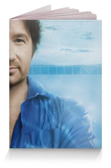 """Обложка для паспорта """"Дэвид Духовны (Блудливая Калифорния)"""" - хэнк муди"""