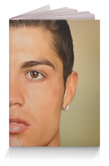 """Обложка для паспорта """"Криштиану Роналду (Футбол)"""" - криштиану роналду"""