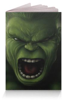 """Обложка для паспорта """"Халк (Hulk)"""" - халк"""