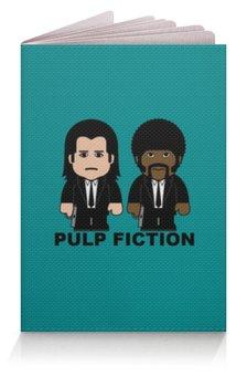 """Обложка для паспорта """"Pulp Fiction"""" - культовое кино, джон траволта, сэмюэл лерой джексон, тарантино, криминальное чтиво"""