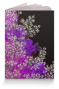 """Обложка для паспорта """"Композиция"""" - цветы, розы, композиция, цветочная"""