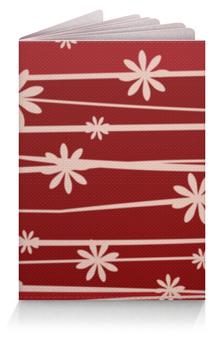 """Обложка для паспорта """"Красная поляна"""" - цветы, узор, стиль, рисунок, цветочный"""