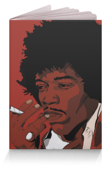 """Обложка для паспорта """"Джими Хендрикс (Jimi Hendrix)"""" - джими хендрикс"""