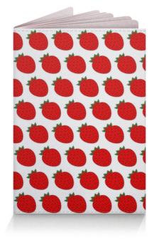 """Обложка для паспорта """"Strawberry"""" - арт, рисунок, настроение, иллюстрация"""