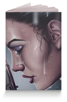 "Обложка для паспорта ""Лара Крофт (Tomb Raider)"" - tomb raider"