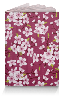 """Обложка для паспорта """"Цветущая вишня"""" - природа, цветочки, цветущая вишня"""