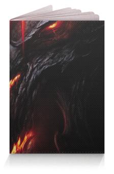 """Обложка для паспорта """"Diablo"""" - дьявол, диабло"""