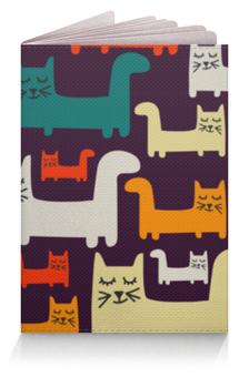 """Обложка для паспорта """"Спящие котики"""" - коты, животные, спящие котики, прикольные коты"""