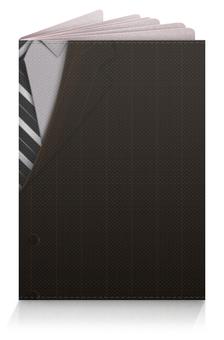 """Обложка для паспорта """"Костюм"""" - галстук, пиджак, деловой костюм"""