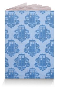 """Обложка для паспорта """"Тардис (Доктор Кто)"""" - doctor who, tardis"""