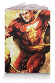 """Обложка для паспорта """"Супергерои  Комиксов"""" - flash, супермен, superman, молния, флэш"""
