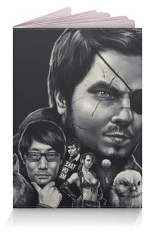 """Обложка для паспорта """"Metal Gear Solid"""" - metal gear solid, солид снейк"""