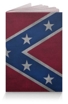 """Обложка для паспорта """"Конфедераты"""" - confederate, флаг конфедерации"""