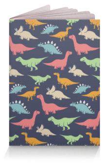 """Обложка для паспорта """"Динозавры"""" - животные, динозавры"""