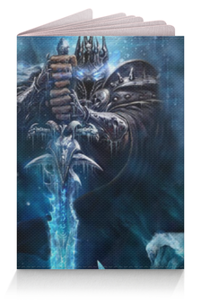 "Обложка для паспорта ""Тирион Фордринг"" - world, warcraft, орда, альянс, варкрафт"