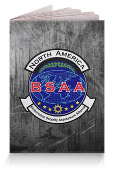 """Обложка для паспорта """"BSAA. Resident Evil"""" - resident evil, re, bsaa"""