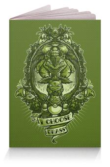 """Обложка для паспорта """"Эволюция Бульбазавра"""" - bulbasaur, покемон го, венузавр, ивизавр, i choose grass"""