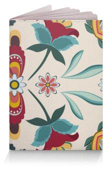 """Обложка для паспорта """"Цветочный"""" - цветы, узор, стиль, рисунок, цветочный"""