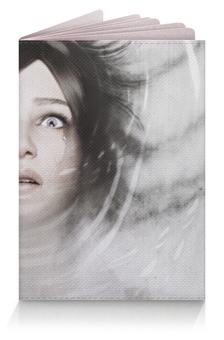 "Обложка для паспорта ""Джули Кидман (Зло внутри)"" - evil within, зло внутри"