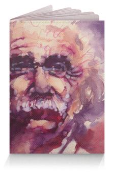"""Обложка для паспорта """"Альберт Эйнштейн"""" - альберт эйнштейн"""