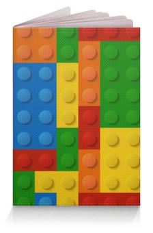 """Обложка для паспорта """"Конструктор Лего"""" - рисунок, игрушка, конструктор, детский рисунок, лего"""