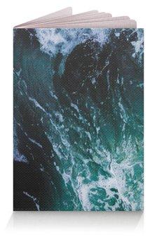 """Обложка для паспорта """"Бескрайнее море"""" - лето, summer, море, sea, океан"""
