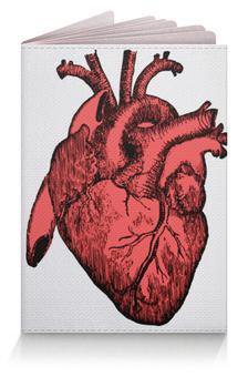 """Обложка для паспорта """"Сердце реалиста"""" - врач"""