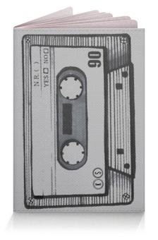 "Обложка для паспорта ""кассета 90"" - кассета, 90's, cassette tape, tm kiseleva"