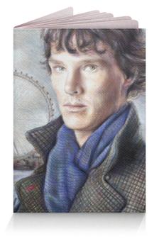 """Обложка для паспорта """"Шерлок (Sherlock)"""" - шерлок"""