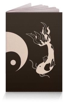 """Обложка для паспорта """"ИньЯнь"""" - духи, легенда, миф, инь, янь"""