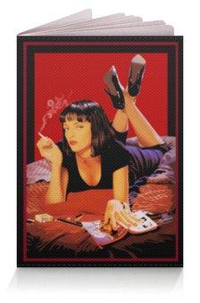 """Обложка для паспорта """"Pulp Fiction (Ума Турман)"""" - mia, культовое кино, ума турман, тарантино, криминальное чтиво"""