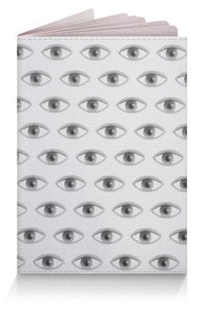 """Обложка для паспорта """"Eye in the Sky"""" - рисунок, арт, абстракция, иллюстрация"""
