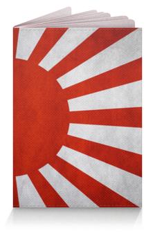 """Обложка для паспорта """"Флаг Японии"""" - japan"""