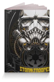 """Обложка для паспорта """"Штурмовик и Дарт Вейдер"""" - star wars, stormtroopers"""