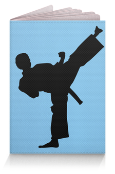 """Обложка для паспорта """"Боевые искусства"""" - боевые искусства"""