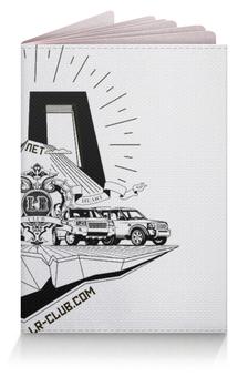 """Обложка для паспорта """"""""10 лет"""""""" - land rover, lrclub, lr-club"""