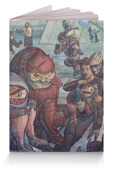 """Обложка для паспорта """"Mass Effect"""" - me, mass effect, масс эффект"""